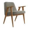 sessel, mobel, wohnen, greenery, SESSEL 366 VELVET - 366 Concept 366 Armchair W02 Velvet Mouse Grey 100x100