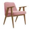 sessel, mobel, wohnen, greenery, SESSEL 366 VELVET - 366 Concept 366 Armchair W02 Velvet Powder Pink 100x100