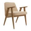 sessel, mobel, wohnen, greenery, SESSEL 366 VELVET - 366 Concept 366 Armchair W02 Velvet Sand 100x100