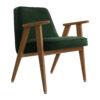 sessel, mobel, wohnen, greenery, SESSEL 366 VELVET - 366 Concept 366 Armchair W03 Velvet Bottle Green 100x100