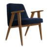 sessel, mobel, wohnen, greenery, SESSEL 366 VELVET - 366 Concept 366 Armchair W03 Velvet Indigo 100x100