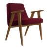 sessel, mobel, wohnen, greenery, SESSEL 366 VELVET - 366 Concept 366 Armchair W03 Velvet Merlot 100x100