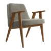 sessel, mobel, wohnen, greenery, SESSEL 366 VELVET - 366 Concept 366 Armchair W03 Velvet Mouse Grey 100x100