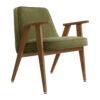 sessel, mobel, wohnen, greenery, SESSEL 366 VELVET - 366 Concept 366 Armchair W03 Velvet Olive 100x100
