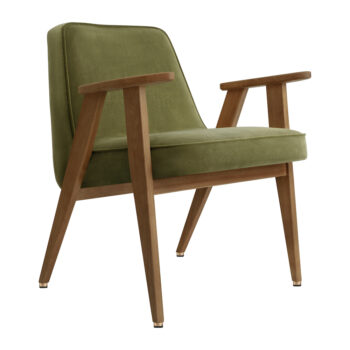 armchairs, furniture, rocking-chairs, interior-design, 366 ROCKING CHAIR VELVET - 366 Concept 366 Armchair W03 Velvet Olive 350x350