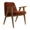 sessel, mobel, wohnen, greenery, SESSEL 366 VELVET - 366 Concept 366 Armchair W03 Velvet Red Brick 100x100
