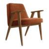 sessel, mobel, wohnen, greenery, SESSEL 366 VELVET - 366 Concept 366 Armchair W03 Velvet Sierra 100x100