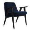 sessel, mobel, wohnen, greenery, SESSEL 366 VELVET - 366 Concept 366 Armchair W04 Velvet Indigo 100x100