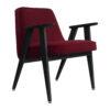 sessel, mobel, wohnen, greenery, SESSEL 366 VELVET - 366 Concept 366 Armchair W04 Velvet Merlot 100x100