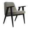 sessel, mobel, wohnen, greenery, SESSEL 366 VELVET - 366 Concept 366 Armchair W04 Velvet Mouse Grey 100x100