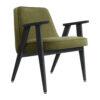 sessel, mobel, wohnen, greenery, SESSEL 366 VELVET - 366 Concept 366 Armchair W04 Velvet Olive 100x100