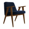 sessel, mobel, wohnen, greenery, SESSEL 366 VELVET - 366 Concept 366 Armchair W05 Velvet Indigo 100x100