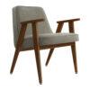 sessel, mobel, wohnen, greenery, SESSEL 366 VELVET - 366 Concept 366 Armchair W05 Velvet Mouse Grey 100x100