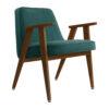 sessel, mobel, wohnen, greenery, SESSEL 366 VELVET - 366 Concept 366 Armchair W05 Velvet Ocean 100x100