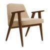 sessel, mobel, wohnen, greenery, SESSEL 366 VELVET - 366 Concept 366 Armchair W05 Velvet Sand 100x100