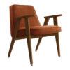 sessel, mobel, wohnen, greenery, SESSEL 366 VELVET - 366 Concept 366 Armchair W05 Velvet Sierra 100x100