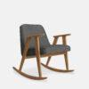 armchairs, furniture, rocking-chairs, interior-design, greenery-en, 366 ROCKING CHAIR LOFT - 366 Concept 366 Rocking Chair W02 Loft Grey 100x100