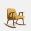armchairs, furniture, rocking-chairs, interior-design, greenery-en, 366 ROCKING CHAIR LOFT - 366 Concept 366 Rocking Chair W02 Loft Mustard 100x100