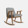 armchairs, furniture, rocking-chairs, interior-design, greenery-en, 366 ROCKING CHAIR LOFT - 366 Concept 366 Rocking Chair W02 Loft Silver 100x100