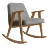 armchairs, furniture, rocking-chairs, interior-design, 366 ROCKING CHAIR TWEED - 366 Concept 366 Rocking Chair W02 Tweed Grey 100x100