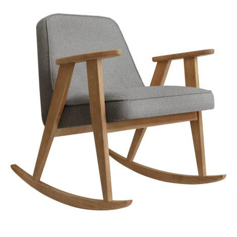armchairs, furniture, rocking-chairs, interior-design, 366 ROCKING CHAIR TWEED - 366 Concept 366 Rocking Chair W02 Tweed Grey 470x470