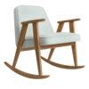 armchairs, furniture, rocking-chairs, interior-design, 366 ROCKING CHAIR TWEED - 366 Concept 366 Rocking Chair W02 Tweed Mentos 100x100