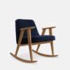 sessel, mobel, wohnen, schaukelstuehle, SCHAUKELSTUHL 366 VELVET - 366 Concept 366 Rocking Chair W02 Velvet Indigo 100x100