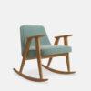 sessel, mobel, wohnen, schaukelstuehle, SCHAUKELSTUHL 366 VELVET - 366 Concept 366 Rocking Chair W02 Velvet Mint 100x100