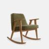 sessel, mobel, wohnen, schaukelstuehle, SCHAUKELSTUHL 366 VELVET - 366 Concept 366 Rocking Chair W02 Velvet Olive 100x100