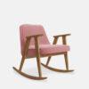 sessel, mobel, wohnen, schaukelstuehle, SCHAUKELSTUHL 366 VELVET - 366 Concept 366 Rocking Chair W02 Velvet Powder Pink 100x100