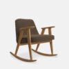 sessel, mobel, wohnen, schaukelstuehle, SCHAUKELSTUHL 366 VELVET - 366 Concept 366 Rocking Chair W02 Velvet Taupe 100x100