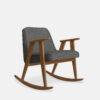 armchairs, furniture, rocking-chairs, interior-design, greenery-en, 366 ROCKING CHAIR LOFT - 366 Concept 366 Rocking Chair W03 Loft Grey 100x100