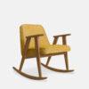 armchairs, furniture, rocking-chairs, interior-design, greenery-en, 366 ROCKING CHAIR LOFT - 366 Concept 366 Rocking Chair W03 Loft Mustard 100x100