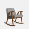 armchairs, furniture, rocking-chairs, interior-design, greenery-en, 366 ROCKING CHAIR LOFT - 366 Concept 366 Rocking Chair W03 Loft Silver 100x100