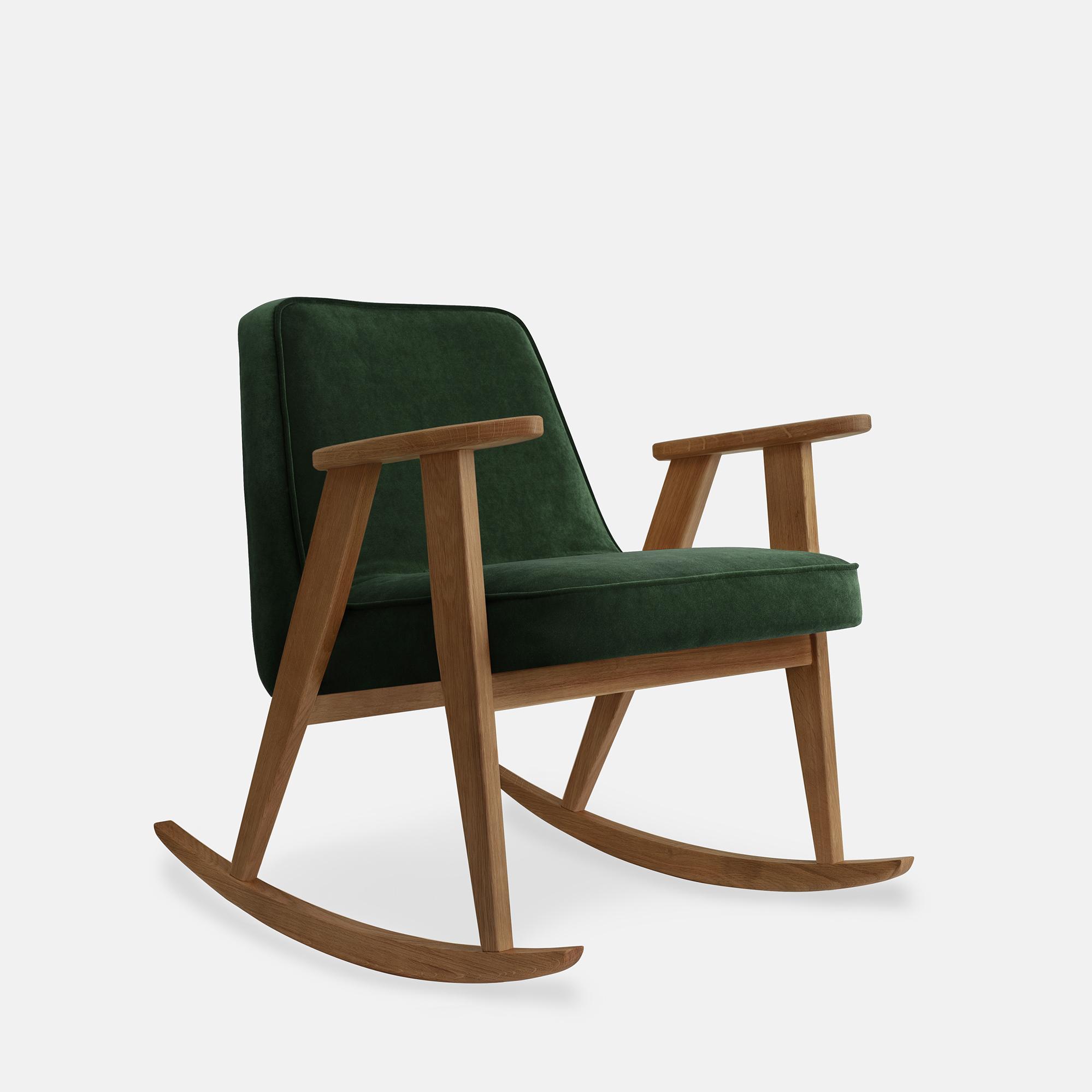 366-Concept-366-Rocking-Chair-W03-Velvet-Bottle-Green