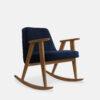sessel, mobel, wohnen, schaukelstuehle, SCHAUKELSTUHL 366 VELVET - 366 Concept 366 Rocking Chair W03 Velvet Indigo 100x100