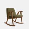 sessel, mobel, wohnen, schaukelstuehle, SCHAUKELSTUHL 366 VELVET - 366 Concept 366 Rocking Chair W03 Velvet Olive 100x100