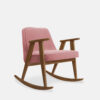 sessel, mobel, wohnen, schaukelstuehle, SCHAUKELSTUHL 366 VELVET - 366 Concept 366 Rocking Chair W03 Velvet Powder Pink 100x100