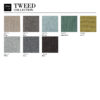 sessel, wohnen, MÖBEL-STOFFMUSTER VON 366 CONCEPT - 366 Concept TWEED Collection 100x100