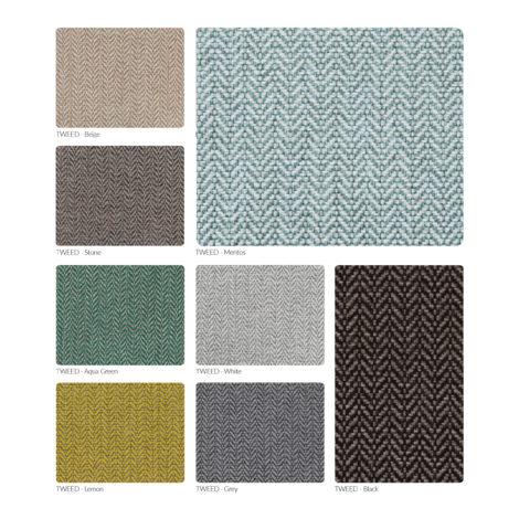 sessel, wohnen, 366 STOFFPROBEN - 366 Concept Tweed palette 470x470