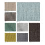 , LOUNGE CHAIR FOX | TWEED - 366 Concept Tweed palette 90x90
