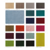 sessel, mobel, wohnen, LOUNGE SESSEL FOX | VELVET - 366 Concept Velvet collection 100x100
