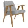 sessel, mobel, wohnen, SESSEL 366 EASY CHAIR LOFT - 366 Concept   366 armchair   Loft 03 Silver   Dark Oak 100x100