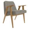 sessel, mobel, wohnen, SESSEL 366 EASY CHAIR LOFT - 366 Concept   366 armchair   Loft 04 Grey   Dark Oak 100x100