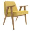 sessel, mobel, wohnen, SESSEL 366 EASY CHAIR LOFT - 366 Concept   366 armchair   Loft 05 Mustard   Dark Oak 100x100