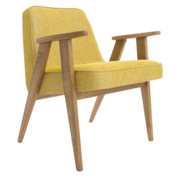 , 366 EASY CHAIR LOFT - 366 Concept   366 armchair   Loft 05 Mustard   Dark Oak 350x350