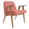 sessel, mobel, wohnen, SESSEL 366 EASY CHAIR LOFT - 366 Concept   366 armchair   Loft 08 Raspberry   Dark Oak 100x100