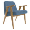 sessel, mobel, wohnen, SESSEL 366 EASY CHAIR LOFT - 366 Concept   366 armchair   Loft 10 Denim   Dark Oak 100x100