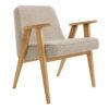 sessel, mobel, wohnen, SESSEL 366 EASY CHAIR TWEED - 366 Concept   366 armchair   Tweed 01 Beige   Oak 100x100