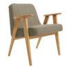 sessel, mobel, wohnen, SESSEL 366 EASY CHAIR TWEED - 366 Concept   366 armchair   Tweed 02 Stone   Oak 100x100